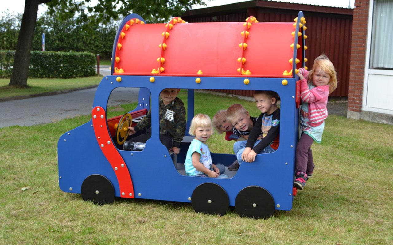 Mini bus - Attrezzature Parco Giochi