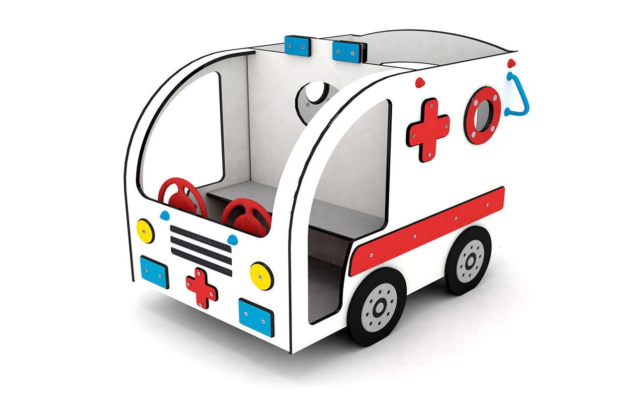 Ambulanza - Attrezzature Parco Giochi