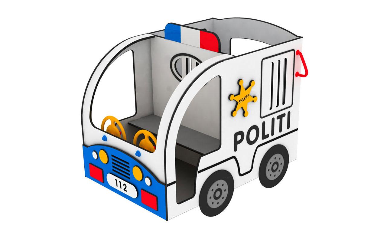 Auto polizia - Attrezzature Parco Giochi