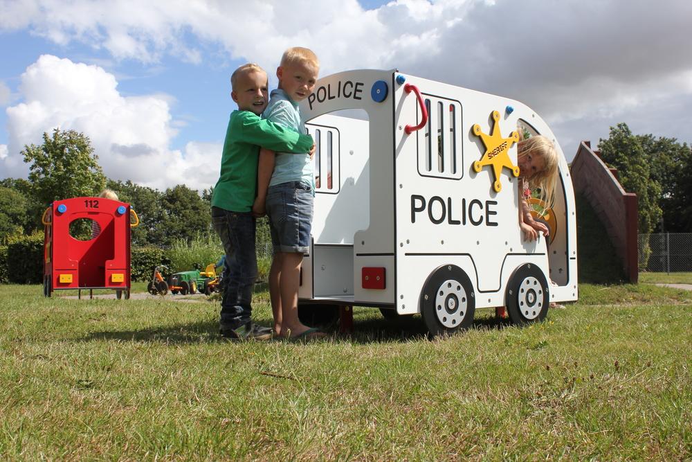 Polizia - Attrezzature Parco Giochi