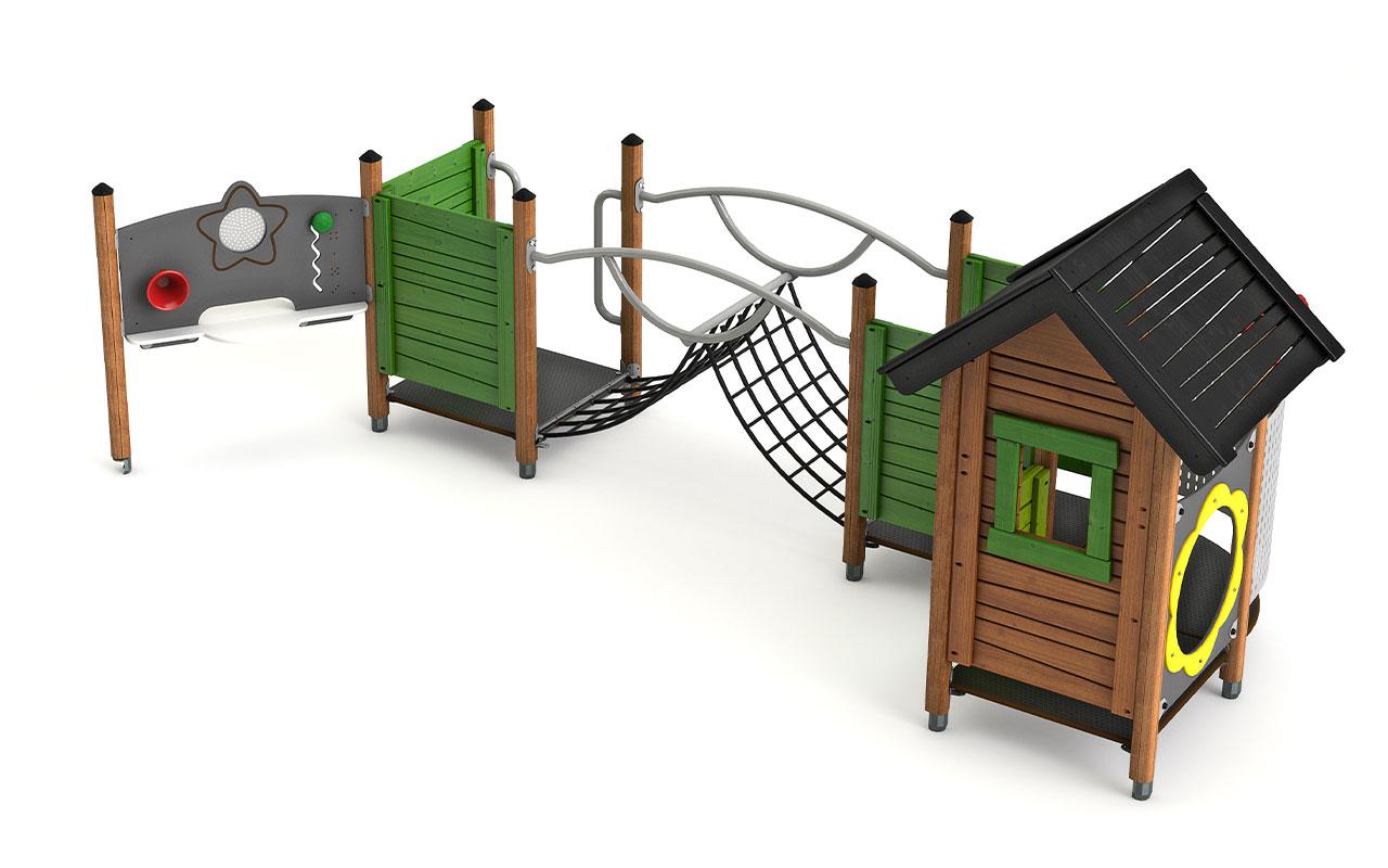 KELUS - Casette e capanne in legno - Casette e capanne in legno