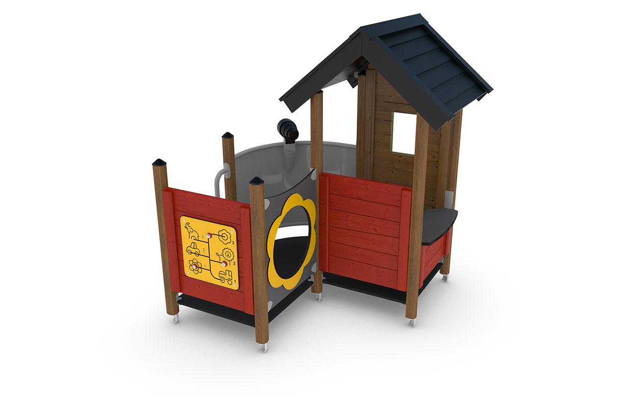 QARON - Casette e capanne in legno