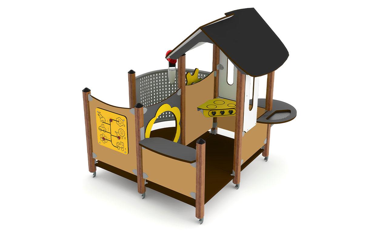 ABBY - Casette e capanne in legno - Casette e capanne in legno