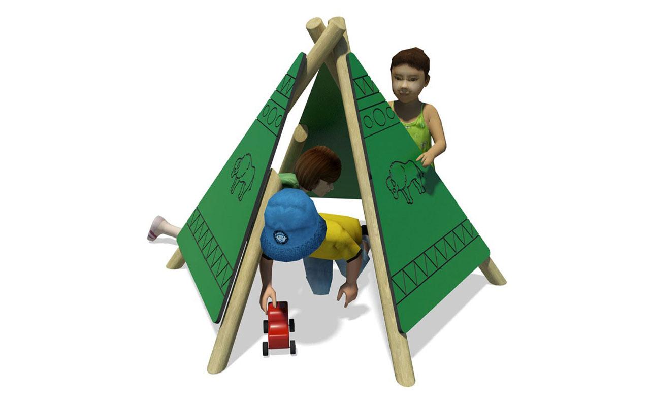 PLAY WIGWAW - PLAY WIGWAW - Casette e capanne in legno - Casette e capanne in legno