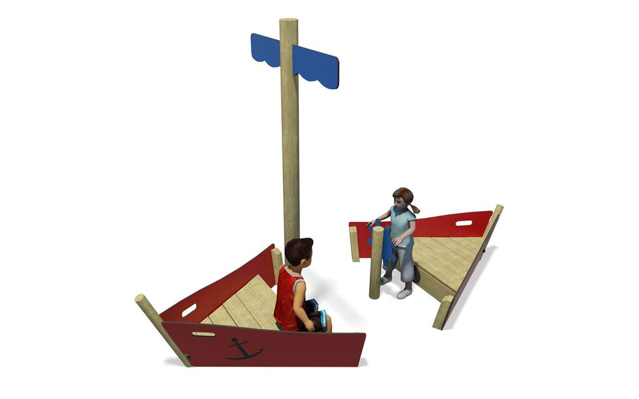 PLAY SHIP - Navi e veicoli in legno