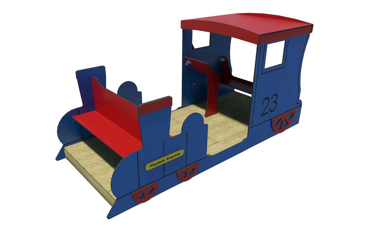 PLAY TRAIN - Navi e veicoli in legno