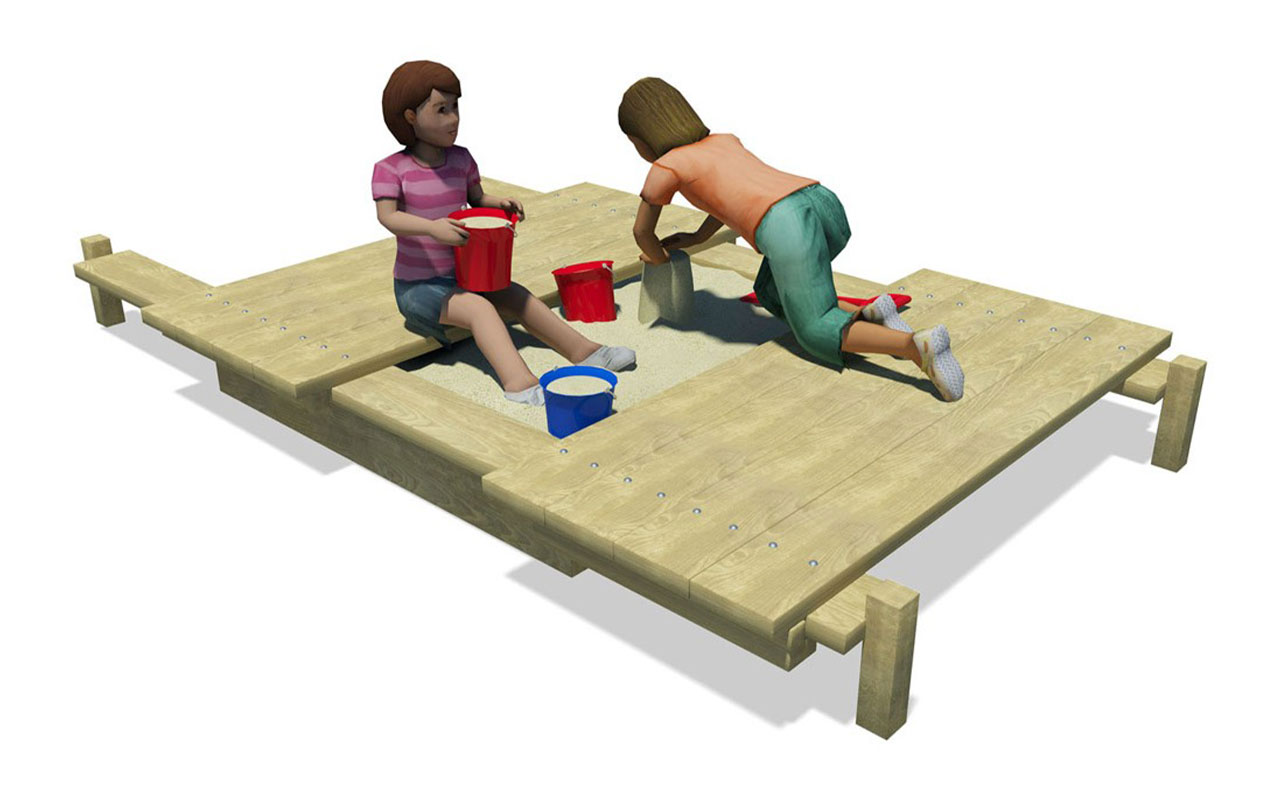PLAY SANDBOX - Sabbiere