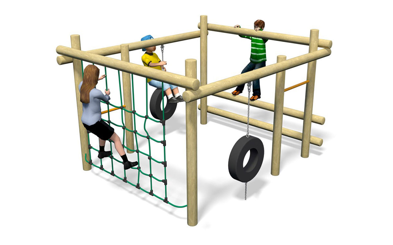 MINI PLAYFRAME - Percorso Avventura