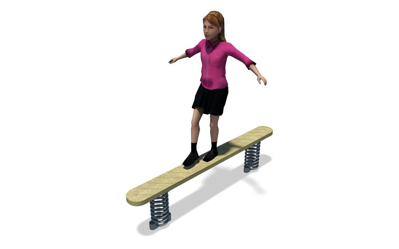 WOBBLE BOARD - Percorso Avventura