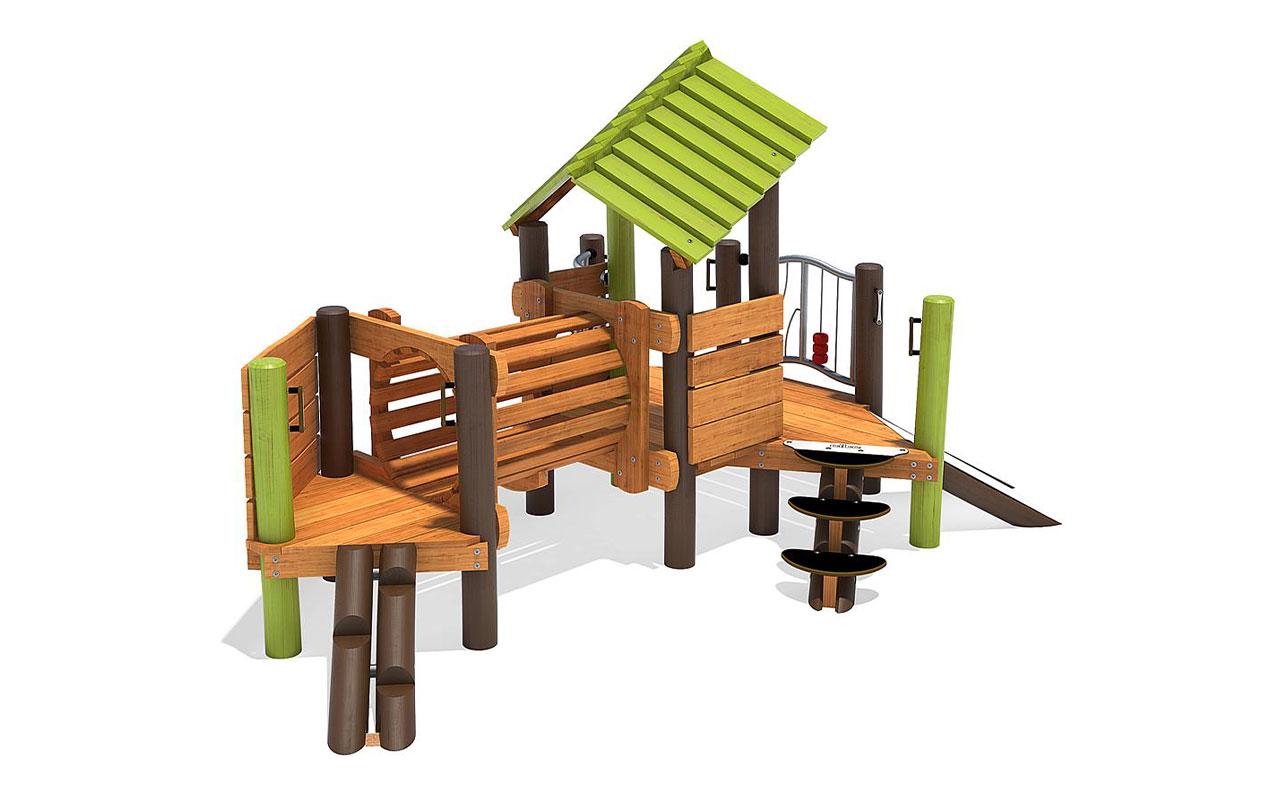 RANJO - Strutture per Parchi Giochi in Legno di Robinia - Strutture per Parchi Giochi in Legno di Robinia