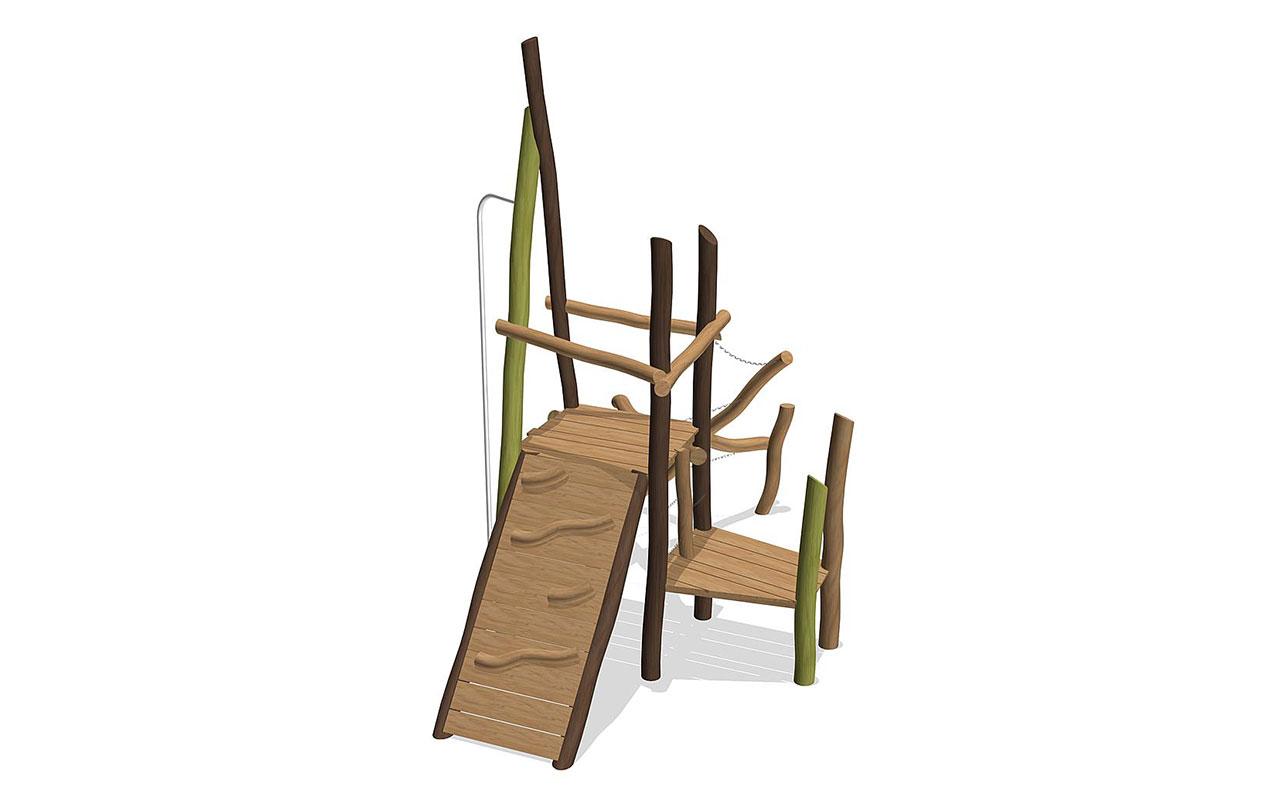 CLIMBING GARDEN - Strutture per Parchi Giochi in Legno di Robinia
