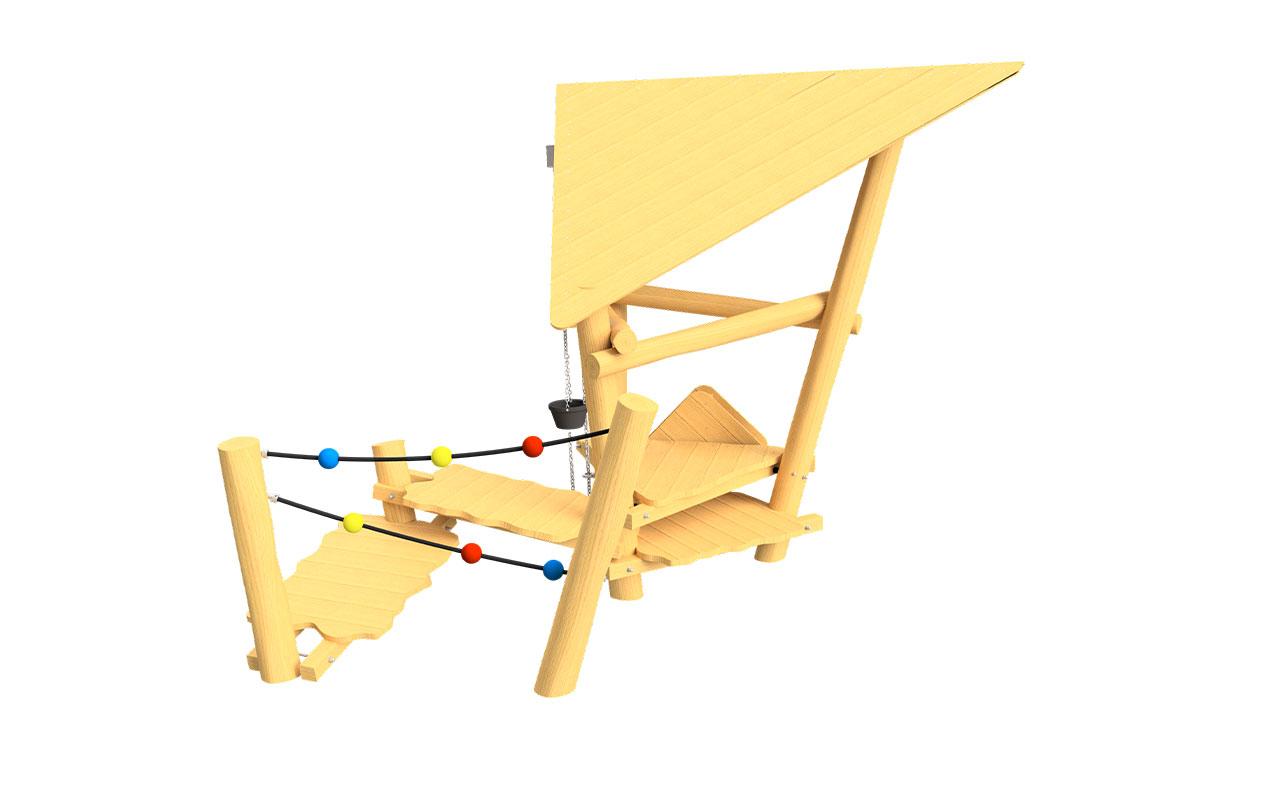 Casetta sabbia - Strutture per Parchi Giochi in Legno di Robinia
