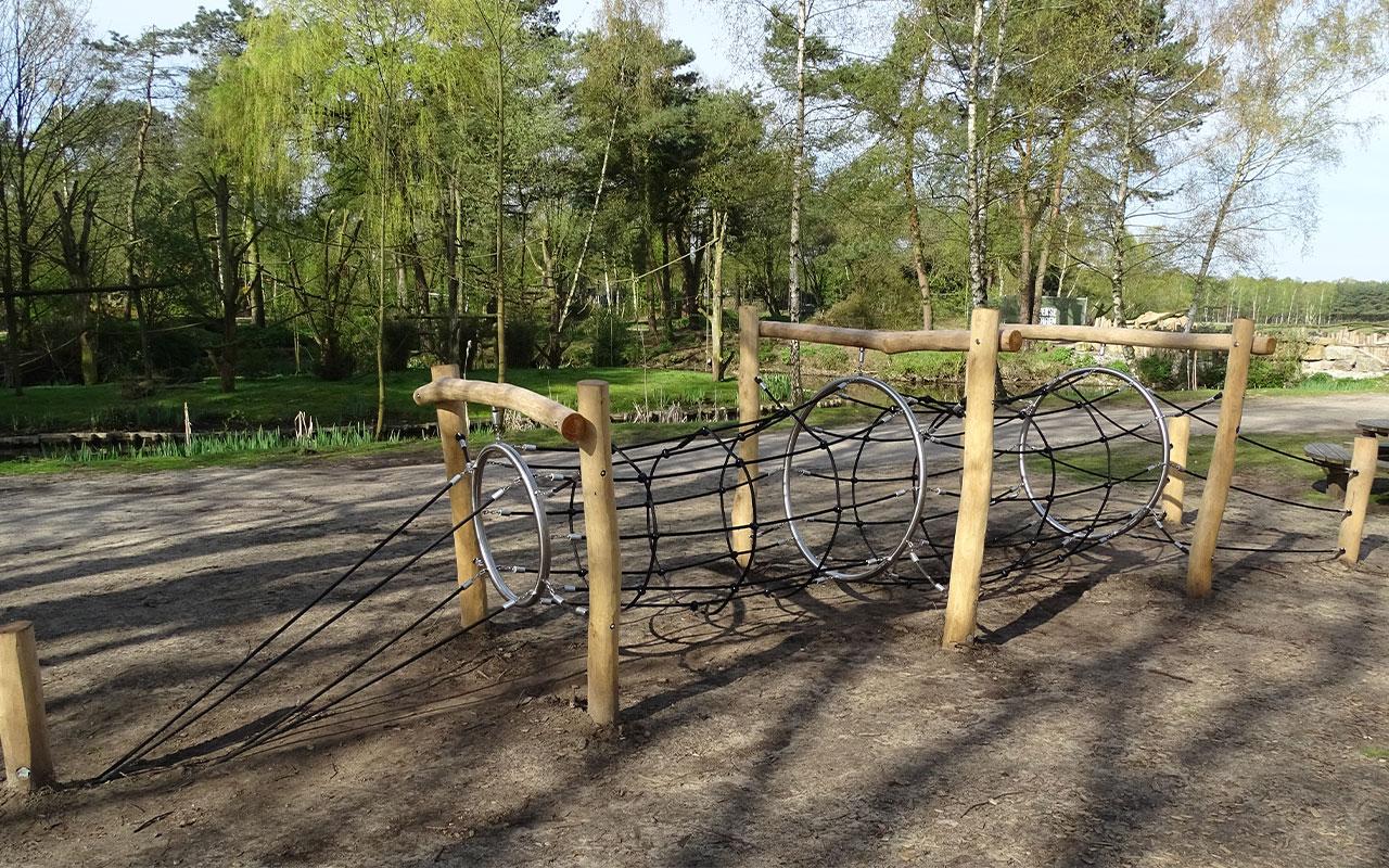 BOER TUNNEL - Strutture per Parchi Giochi in Legno di Robinia - Strutture per Parchi Giochi in Legno di Robinia