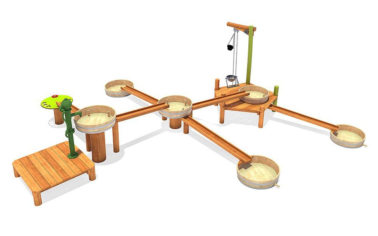 ALBIDA - Sabbiere e Giochi d'acqua in Legno di Robinia - Sabbiere e Giochi d'acqua in Legno di Robinia