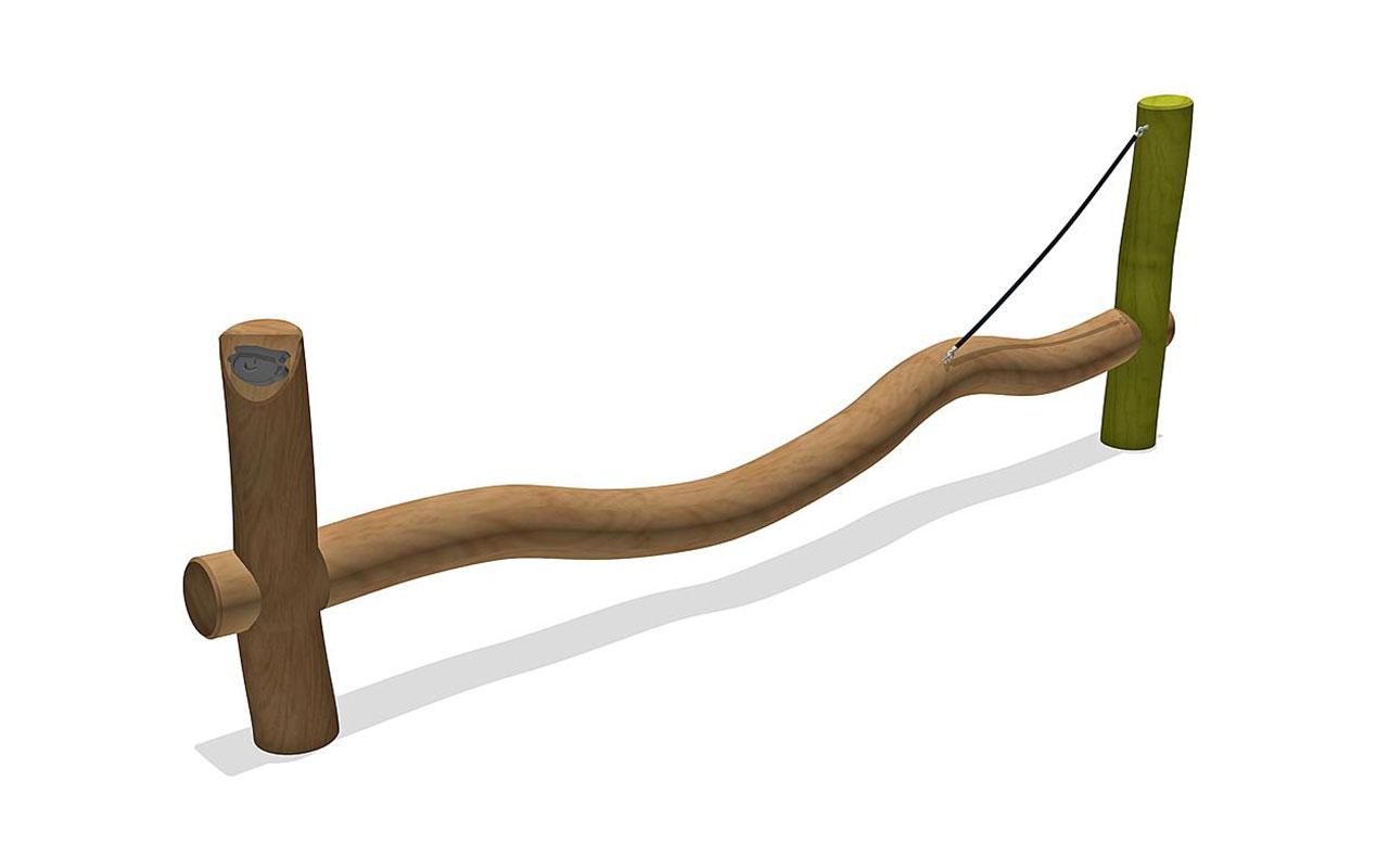 Oswin - Percorso Avventura in Legno di Robinia