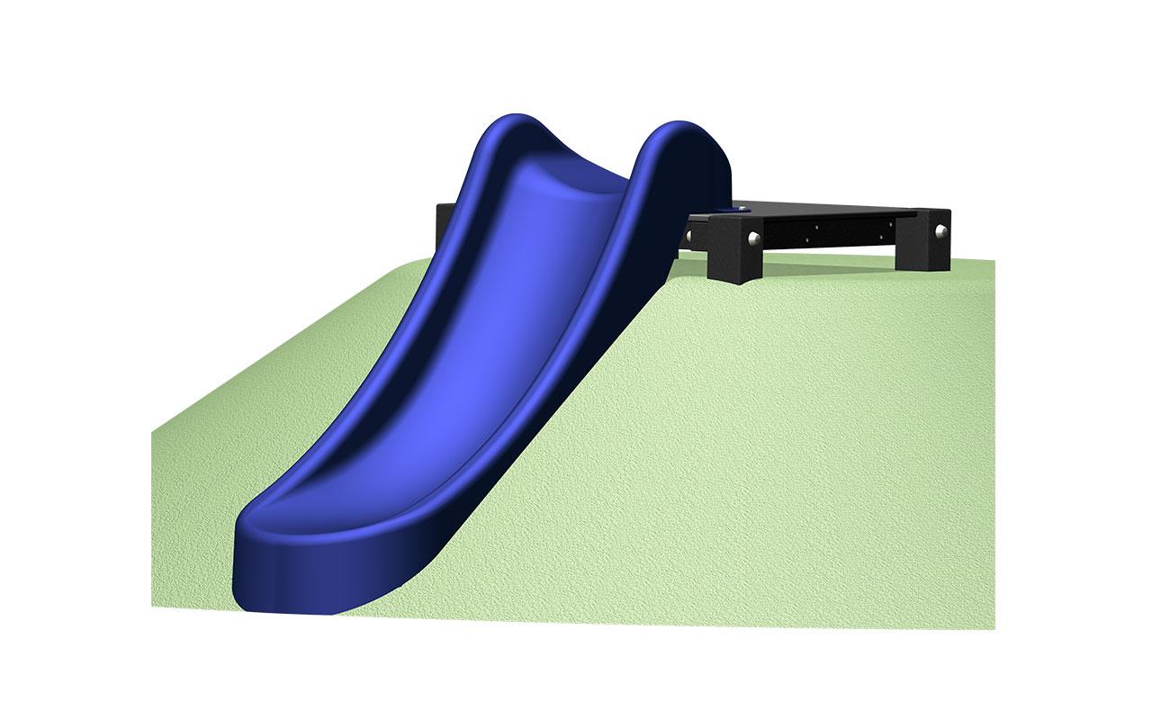 SCIVOLO DA PENDIO - SCIVOLO DA PENDIO - Scivoli e Castelli Combinati in Plastica Riciclata - Scivoli e Castelli Combinati in Plastica Riciclata