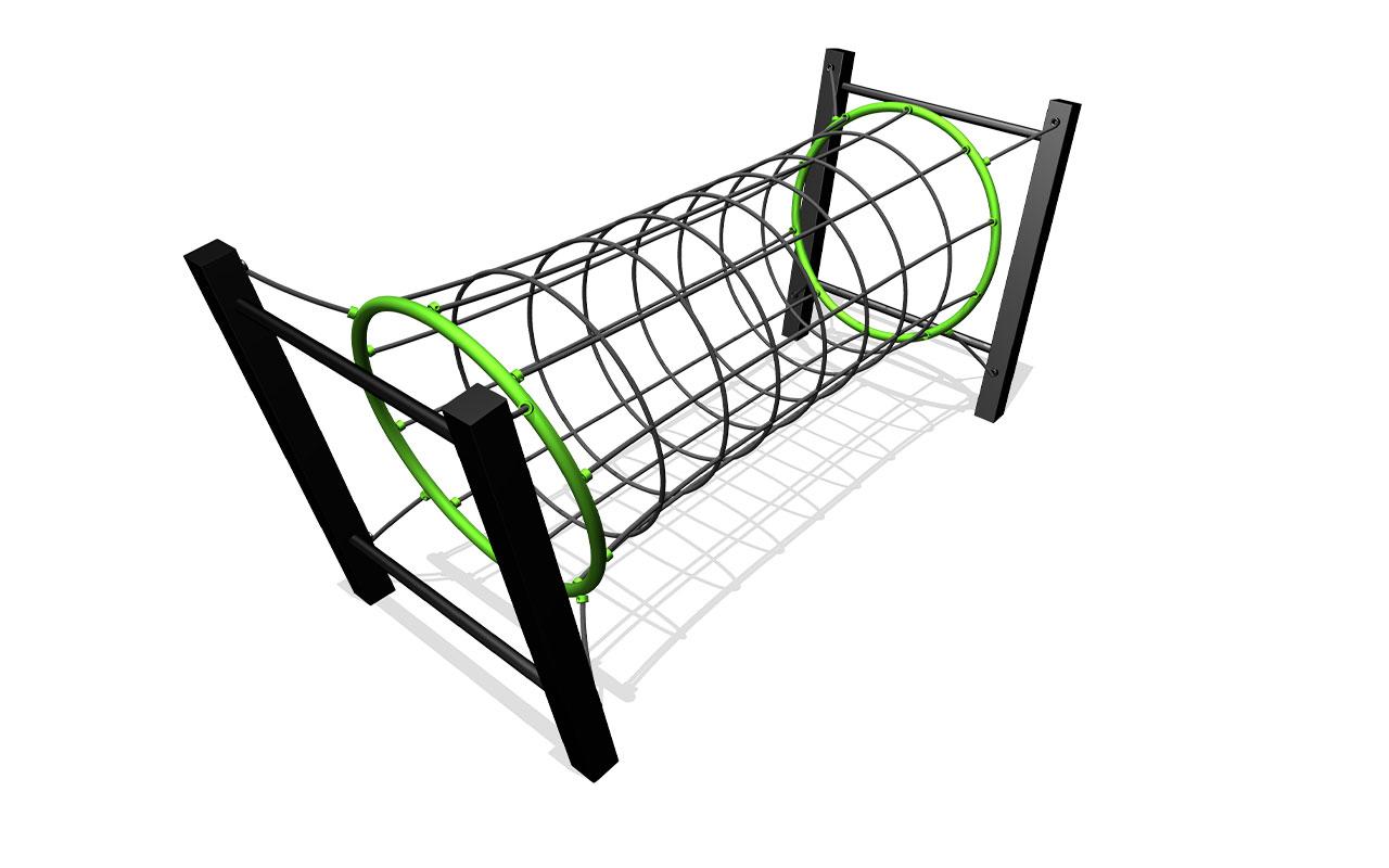 TUNNEL DI CORDE - Scivoli e Castelli Combinati in Plastica Riciclata