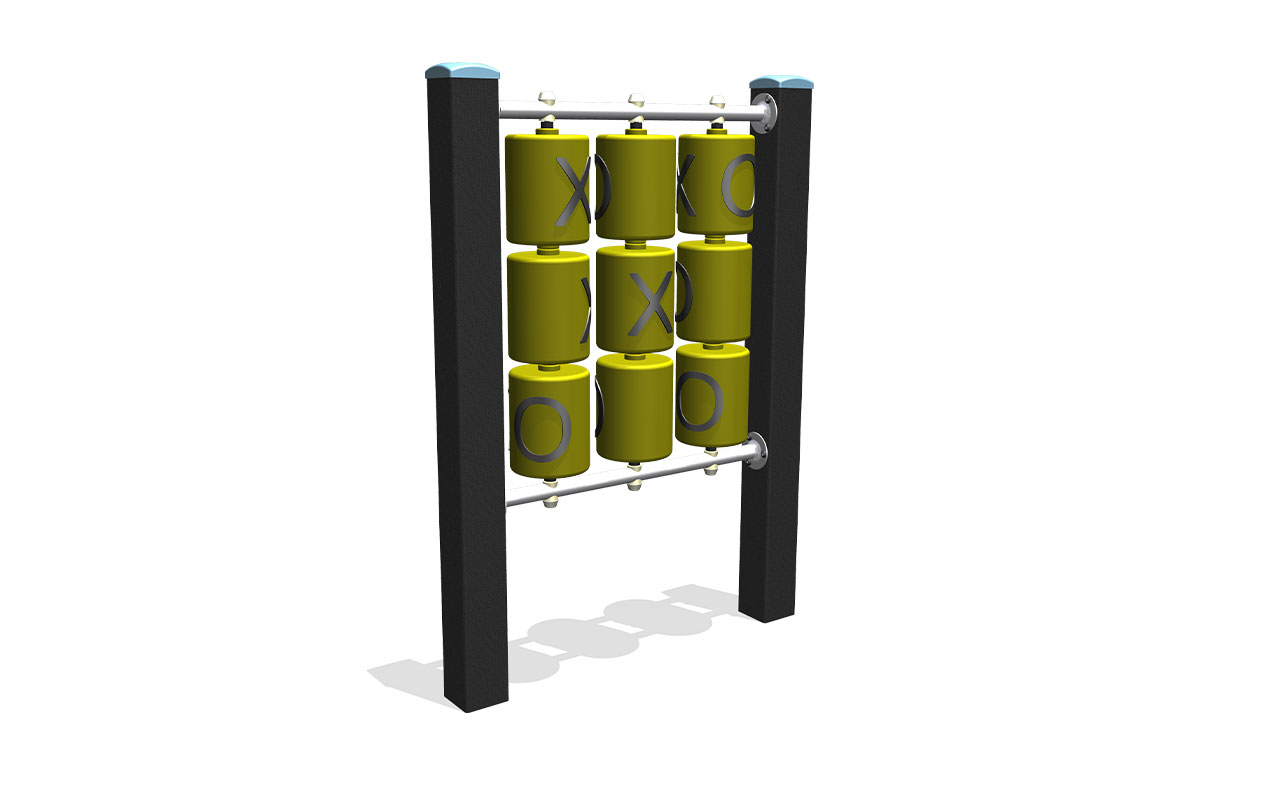 TIC TAC TOE - Pannelli Gioco in Plastica Riciclata