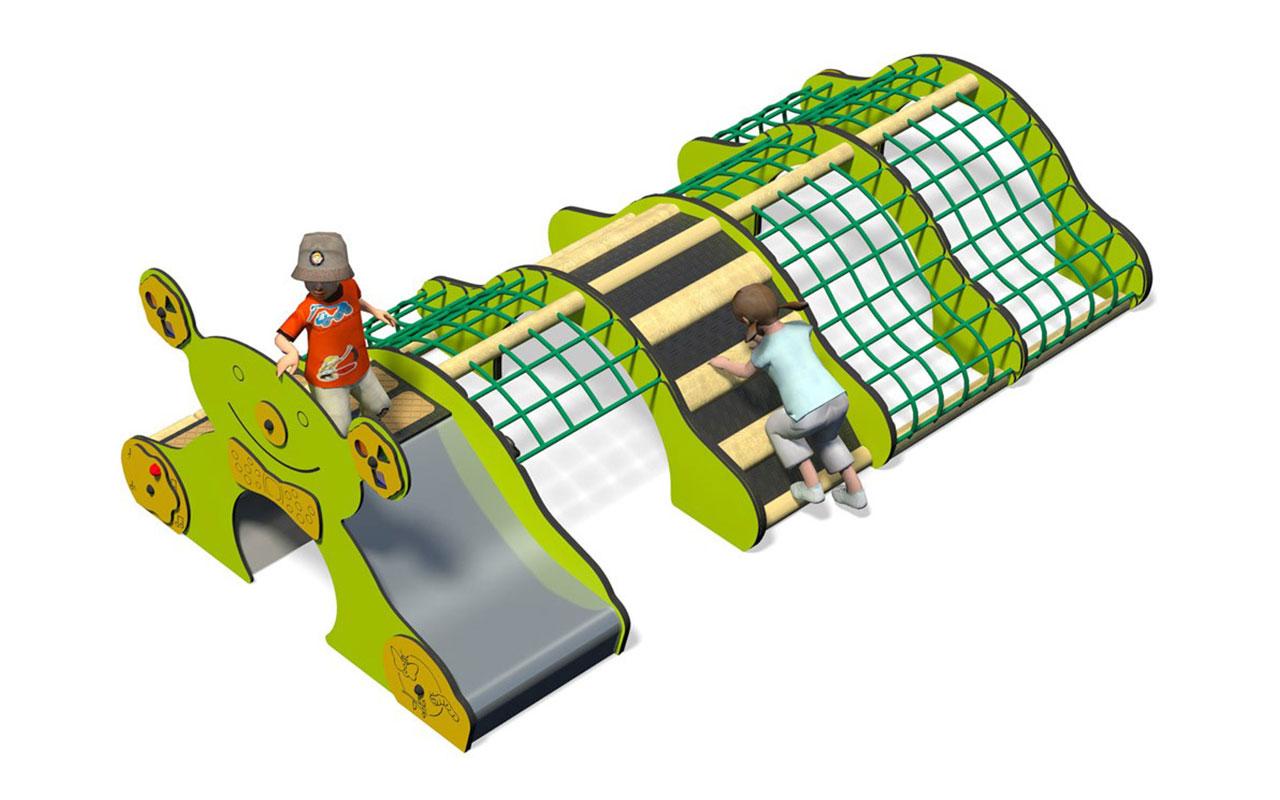 PLAY WIGGLES - Giochi per Asili da esterno