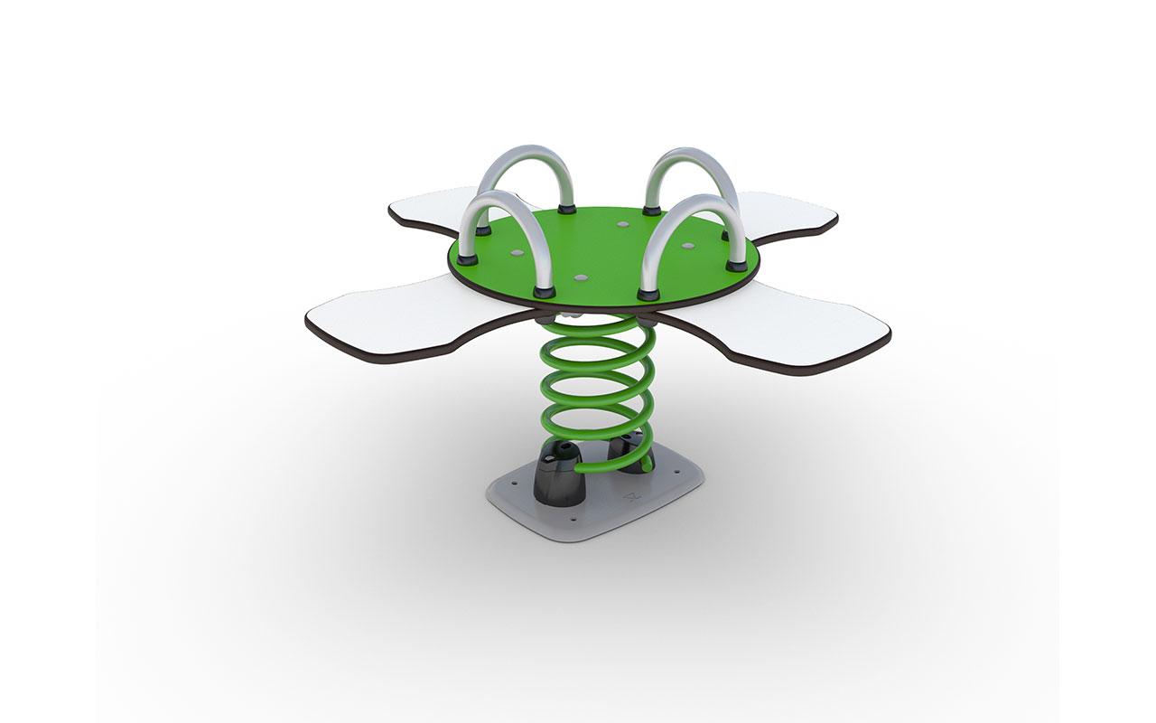 Spring Toy Turtle verde - Giochi a Molla