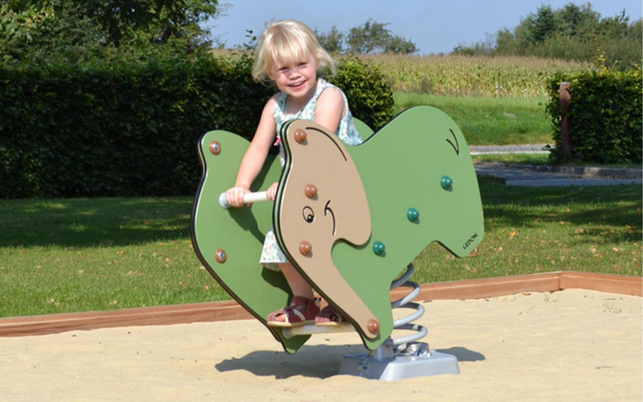 LED ELEPHANT - Giochi a Molla - Giochi a Molla