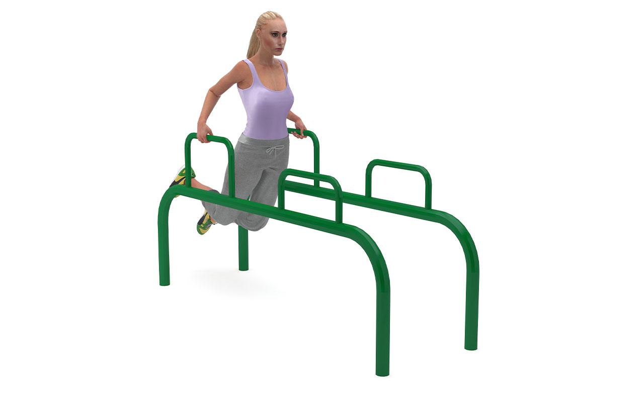 DIP STATION - Fitness da Esterno - Fitness da Esterno