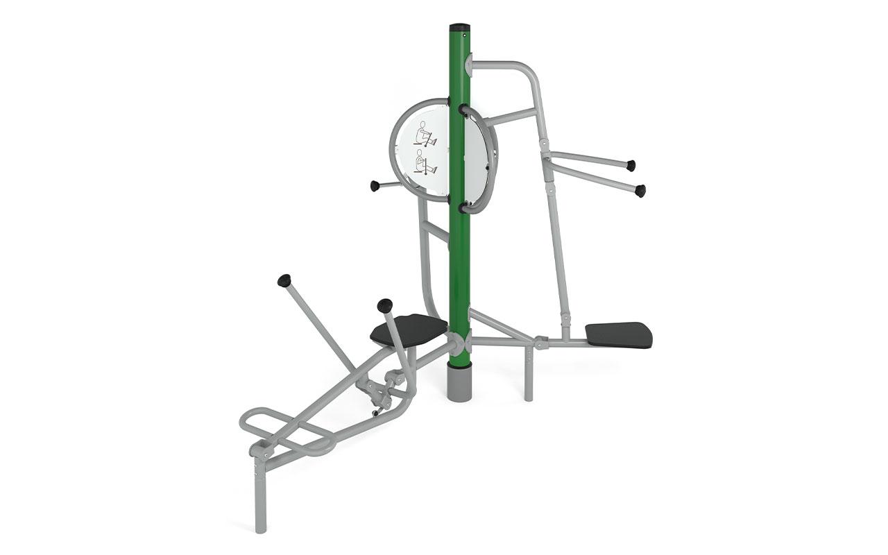 GYM TIBAS - Fitness da Esterno - Fitness da Esterno
