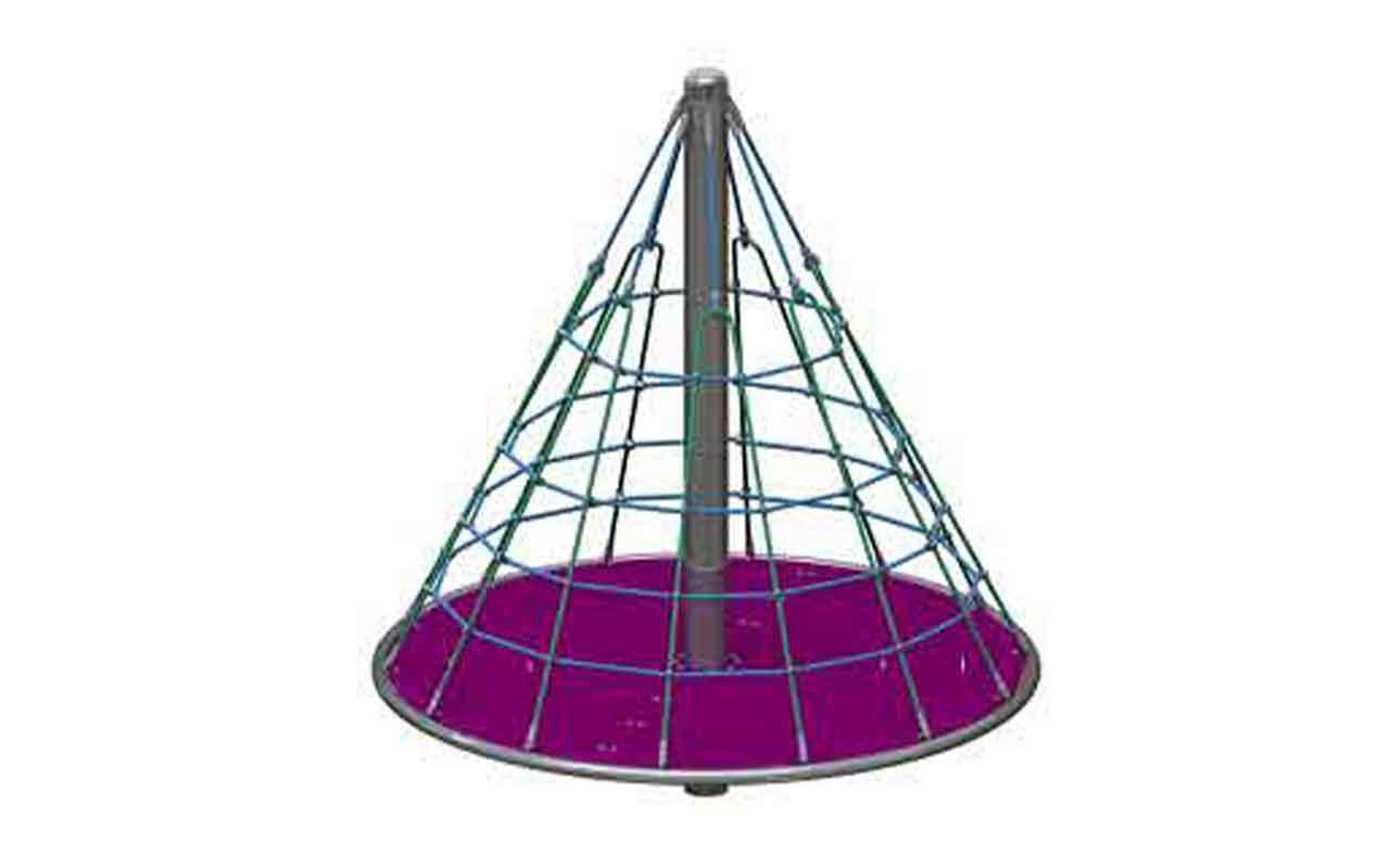 Cone Climber Tredsafe - Giochi di Arrampicata Rotanti