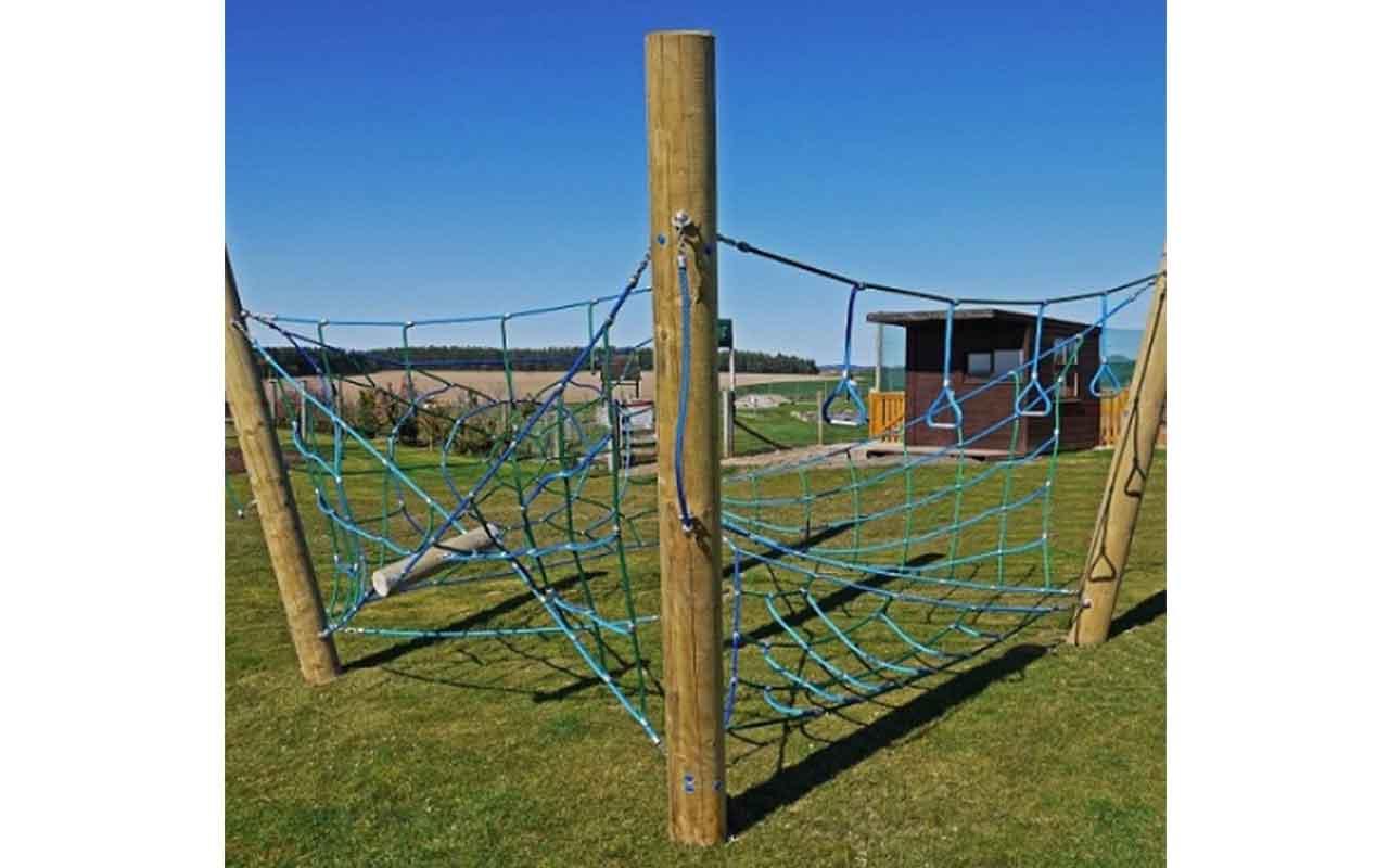 Timber Fort - Strutture di Arrampicata a Rete