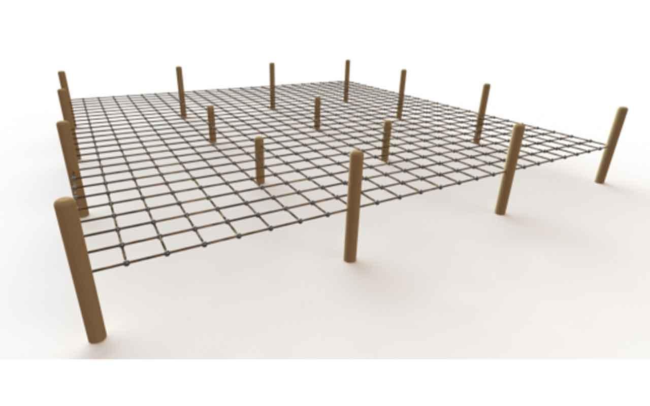 Timber Crawl - Strutture di Arrampicata a Rete
