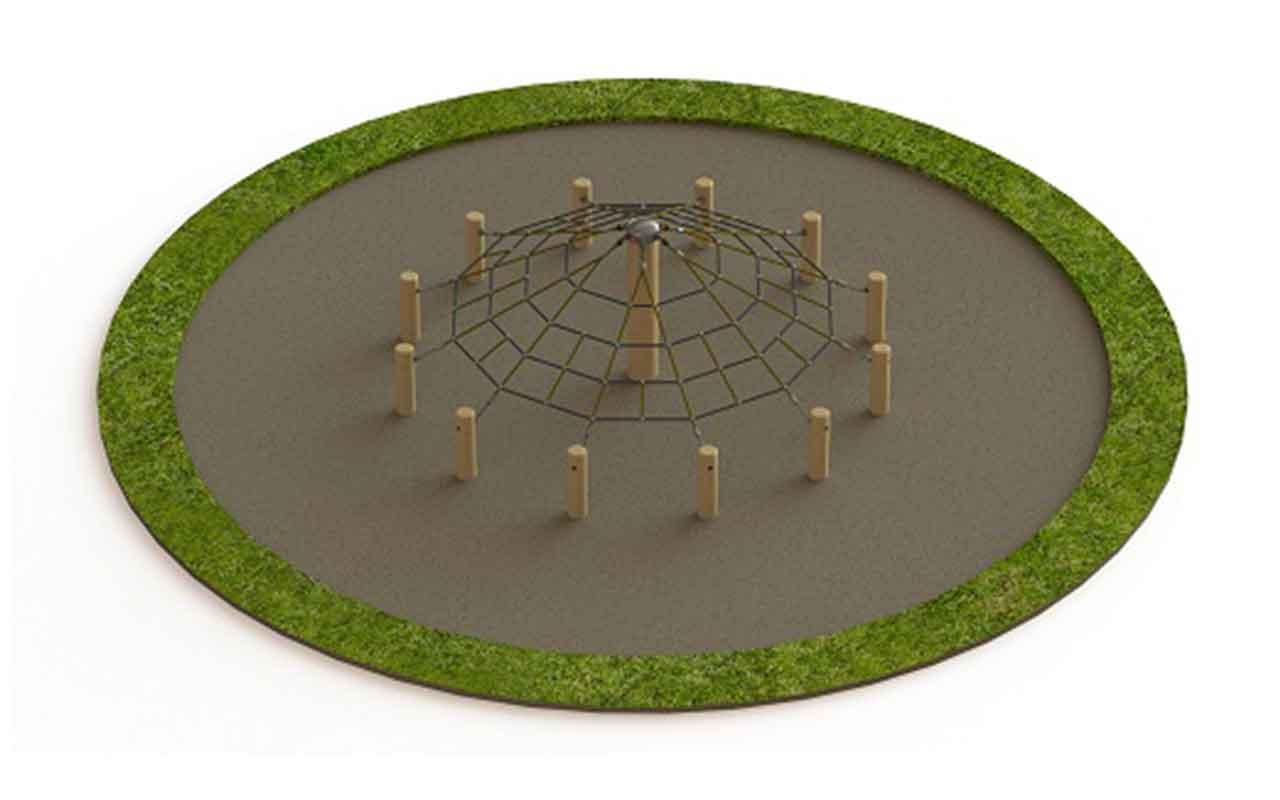 Timber Cone - Strutture di Arrampicata a Rete
