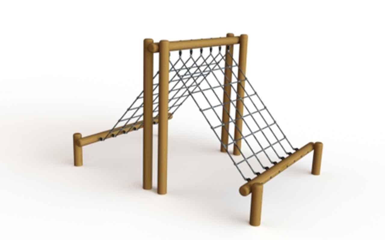 Up and Over Net - Strutture di Arrampicata a Rete