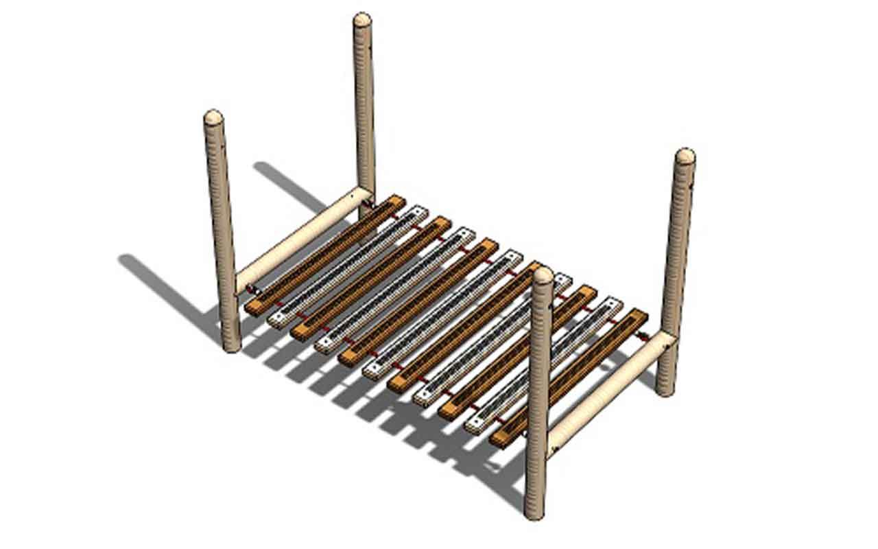 Clatter Deck Bridge - Ponti e Tunnel da Arrampicata