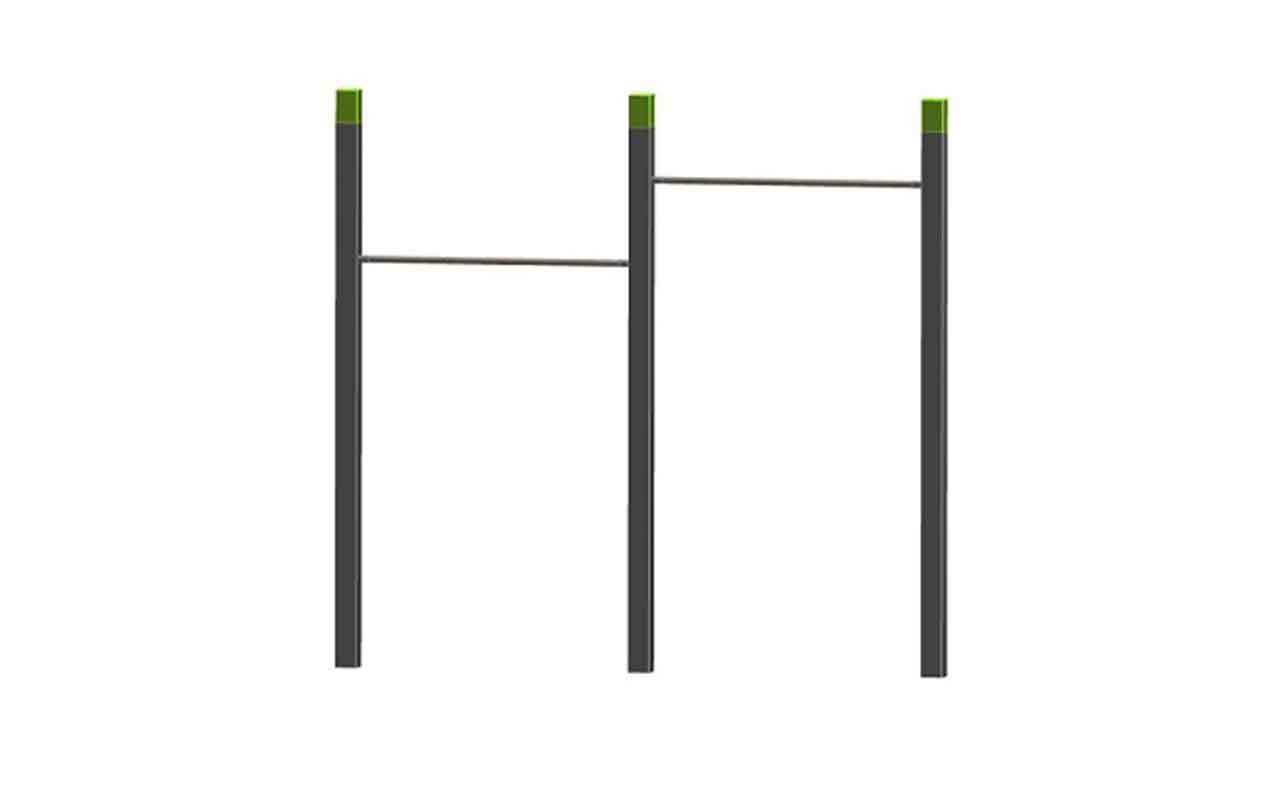 DOUBLE PULL UP - DOUBLE PULL UP - Palestra all'Aperto - Palestra all'Aperto