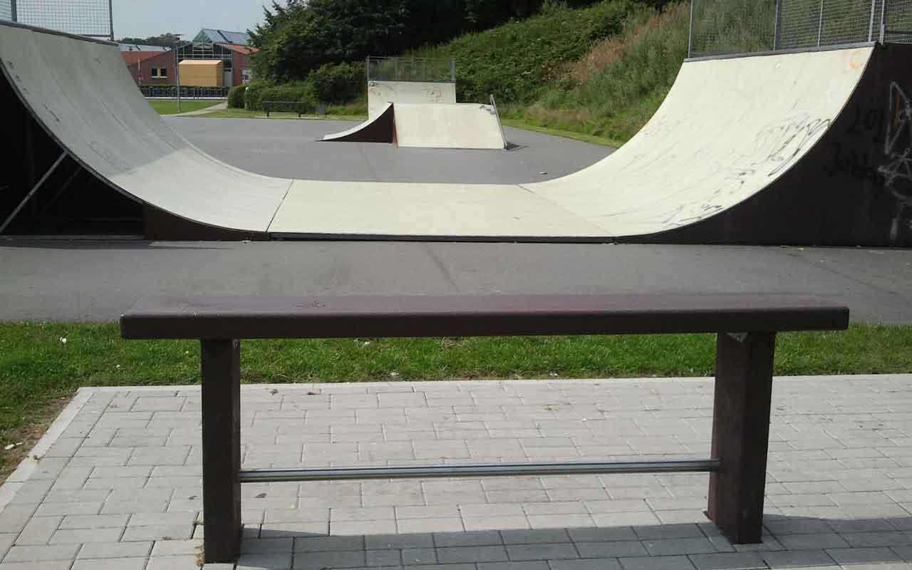 Panchina Skater Collodi - Panchine in Plastica Riciclata