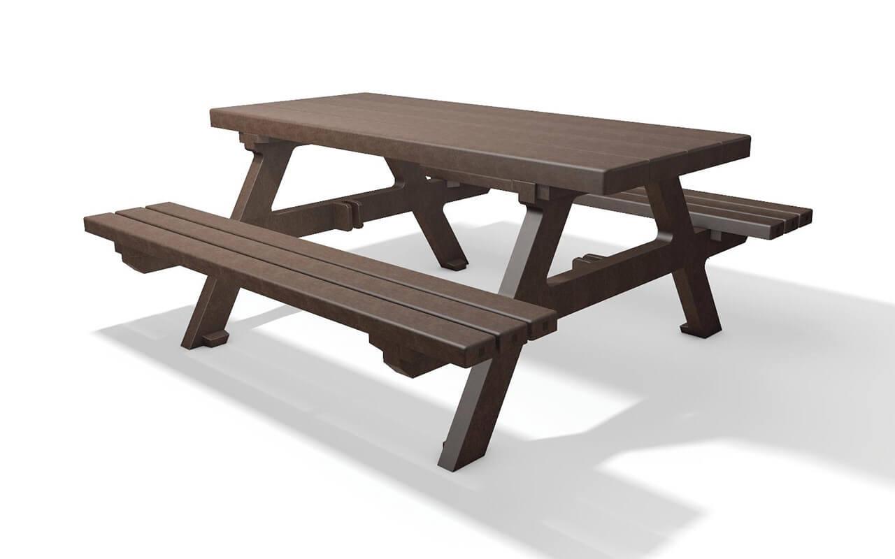 ISOLA SET - Tavoli/Panche in Plastica Riciclata