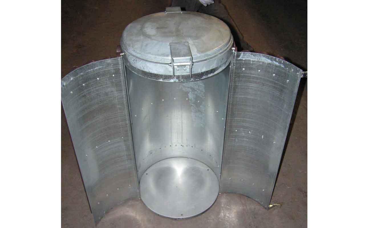 Cestino Stora - Contenitori rifiuti in Plastica Riciclata