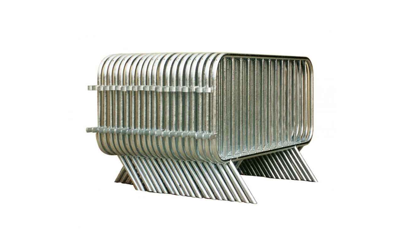 Barriera in acciaio - set - Transenne Parapedonali