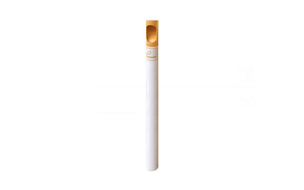 Posacenere/Dissuasore - colori sigaretta - Posacenere da Esterno