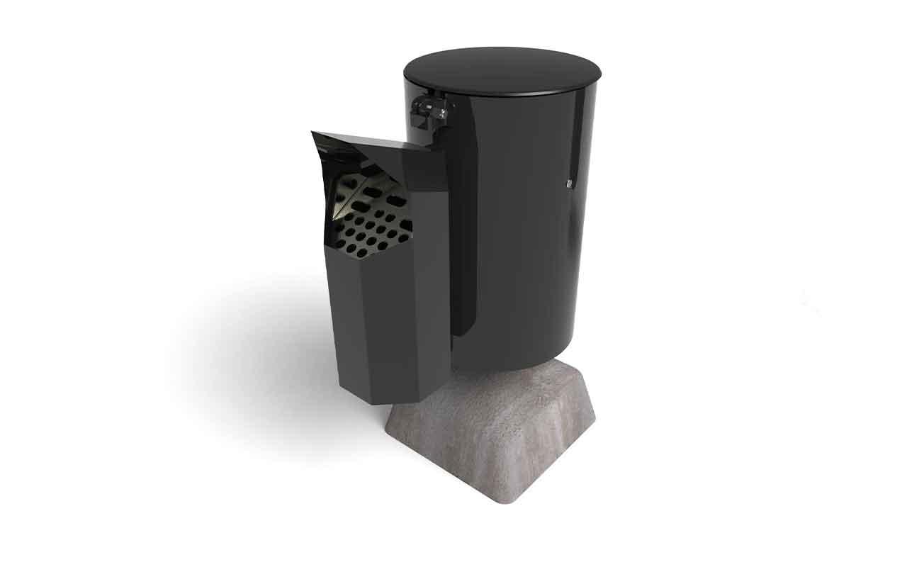 ASH STAND - Posacenere da Esterno