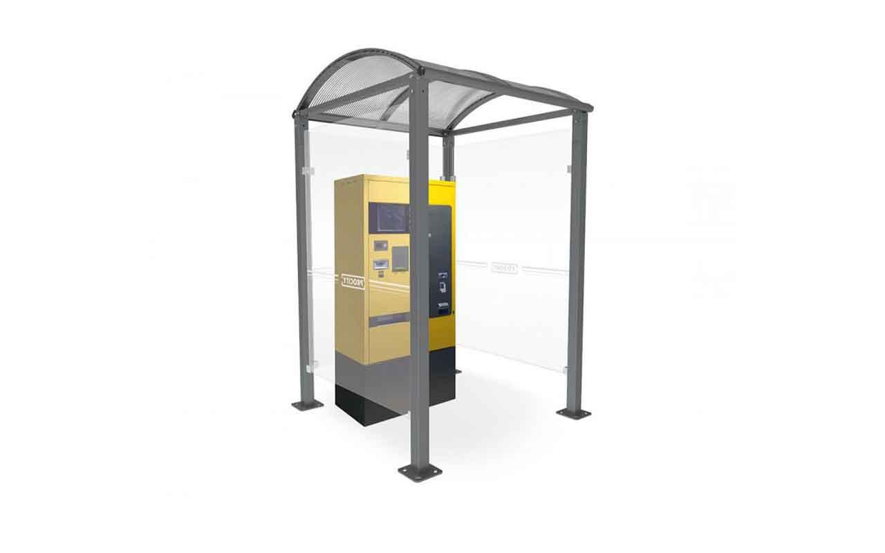 VOUTE PAY POINT - VOUTE PAY POINT - Pensiline Per Autobus - Pensiline Per Autobus
