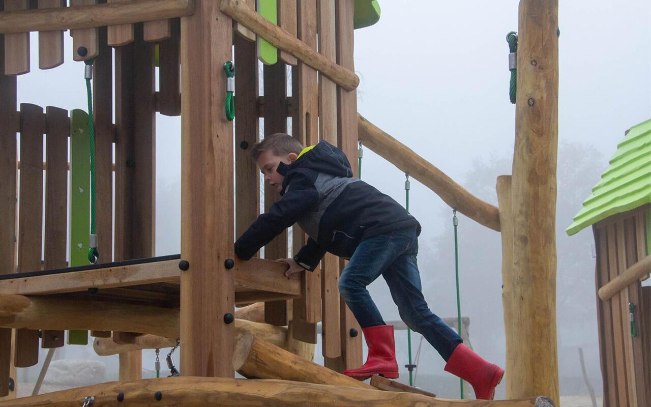 CLIMBING ROUTE YELLOWSTONE - Strutture per Parchi Giochi in Legno di Robinia - Strutture per Parchi Giochi in Legno di Robinia