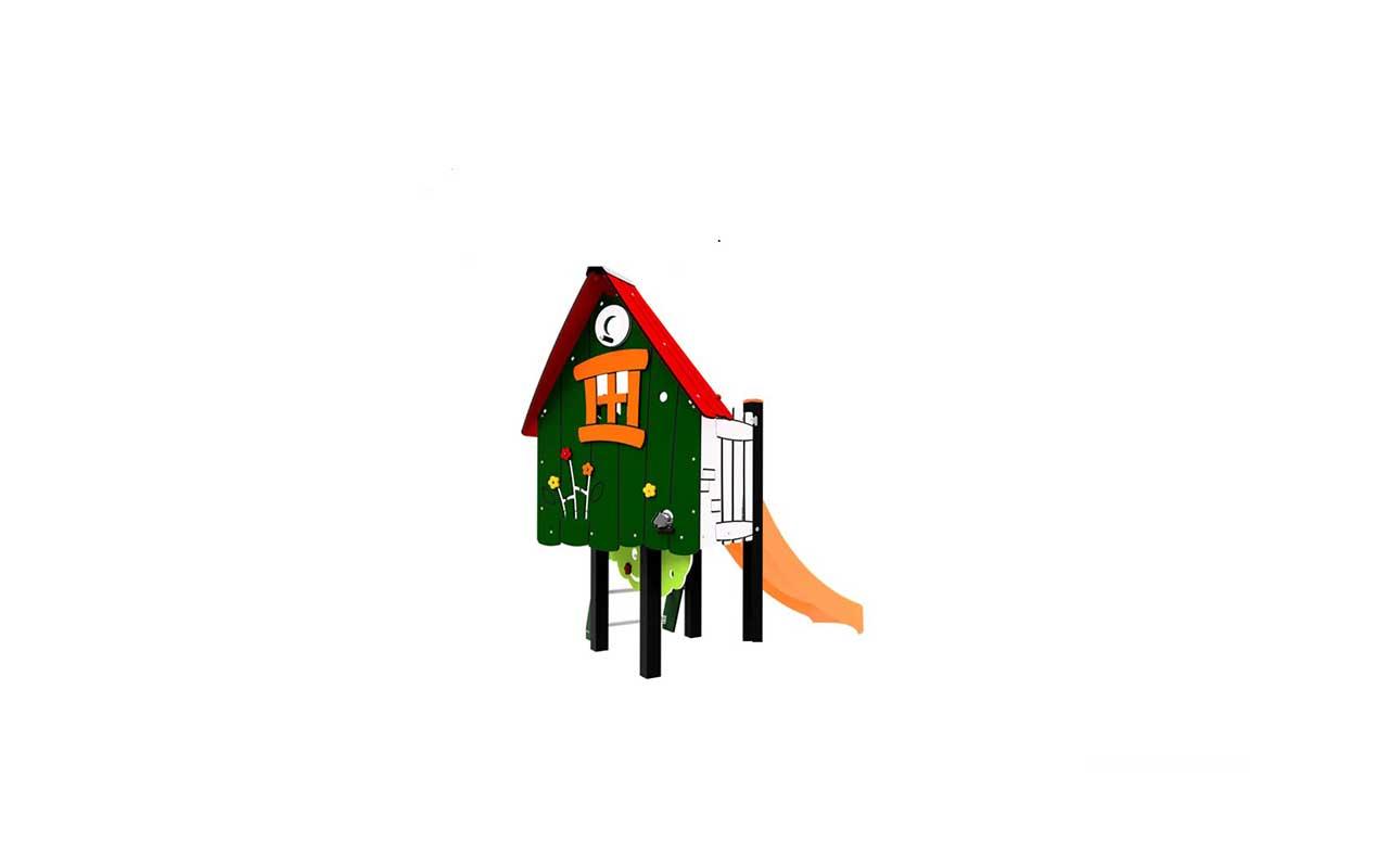 ALBARRACIN - ALBARRACIN - Scivoli e Castelli Combinati in Plastica Riciclata - Scivoli e Castelli Combinati in Plastica Riciclata