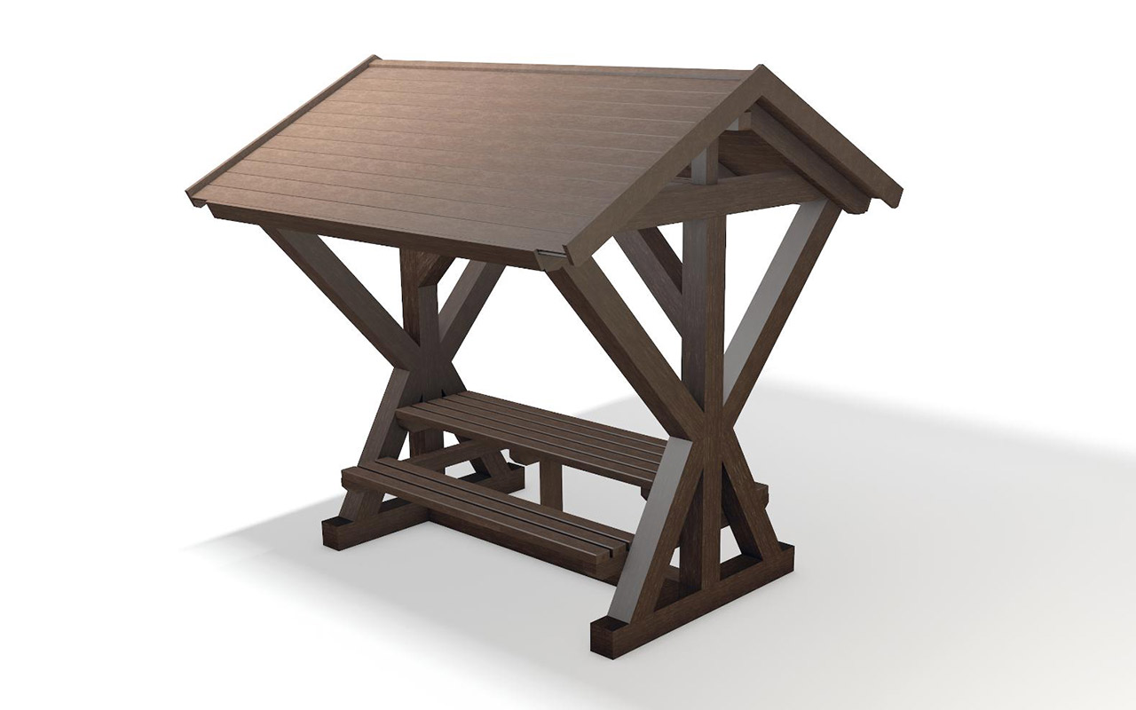 GRAND CANYON BENCH - GRAND CANYON BENCH - Tavoli/Panche in Plastica Riciclata - Tavoli/Panche in Plastica Riciclata